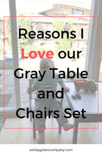 Kids gray table and chair set, kids table and chairs, gray kids table and chairs, gray kids table, gray kids table and chairs amazon, kids table, kids chairs, ashleygreencompany, ashley green, amazon, on amazon